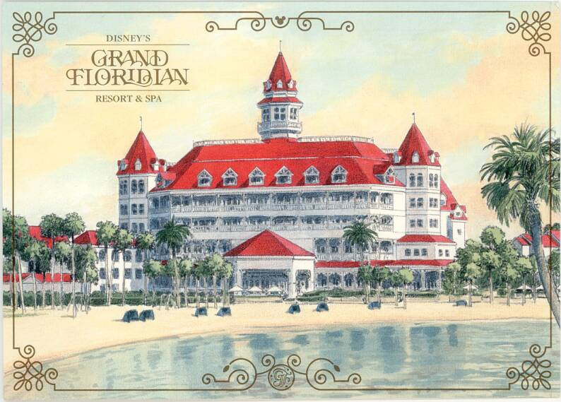 In The Beginning: The Grand Floridian Resort – My Very First Disney 3D Model