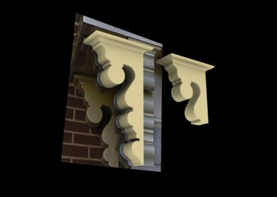 Disneyland Main Street Train Station Corbel Detail