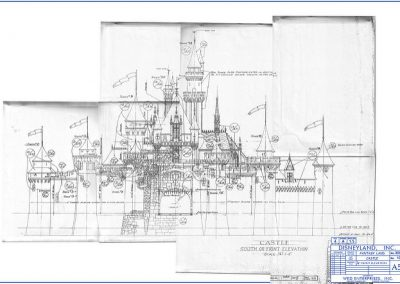 disneyland sleeping beauty castle blueprint