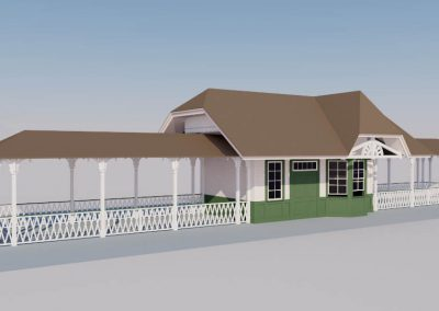 New Orleans Train Station 3D Model