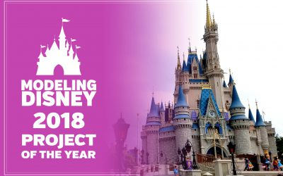 2018 Project – Walt Disney World's Cinderella Castle in 3D