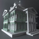 Disneyland Haunted Mansion 3d Model