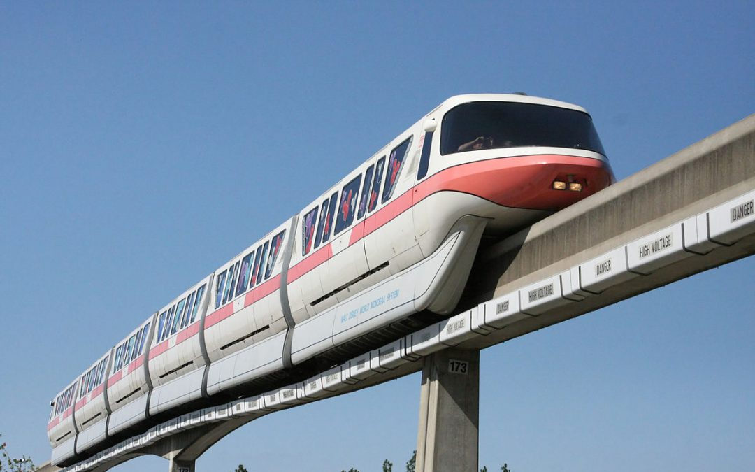 Walt Disney World Monorail Coral