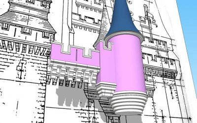 Cinderella Castle 3D Model – May 2019 Update