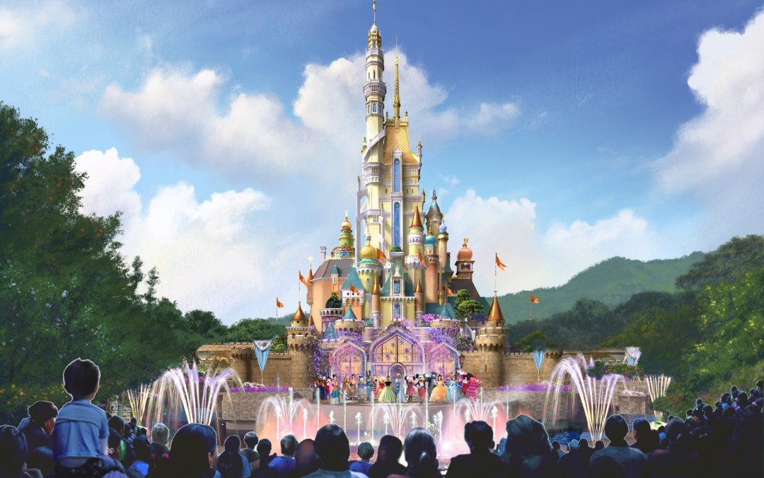 Hong Kong Disneyland's Sleeping Beauty Castle Transformation