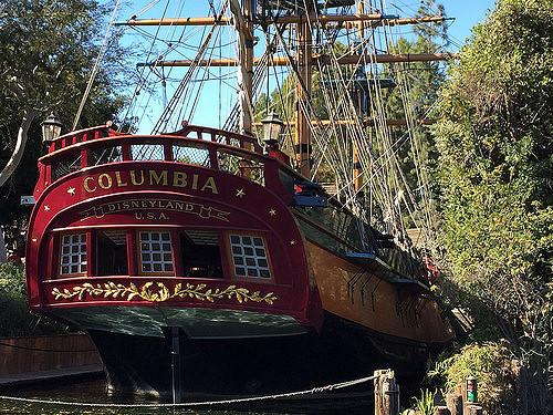 columbia sailing ship disneyland