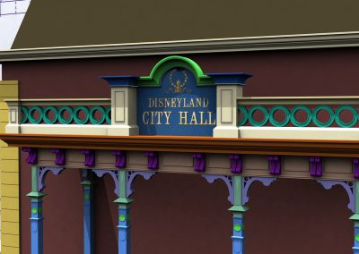 Disneyland Main Street City Hall