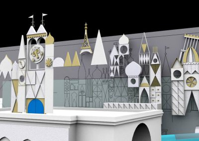Disneyland's It's A Small World - Render 7