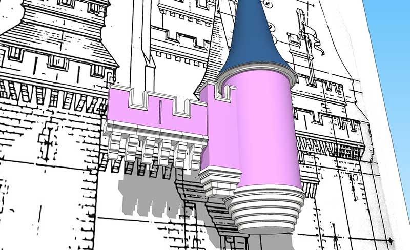 Cinderella Castle 3D Model – May 2019 Update