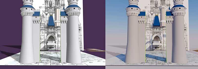 Cinderella Castle 3D Model – Update 16 May 2019